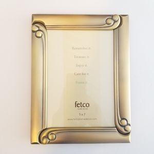 FETCO WITH ESCARGOT CORNERS PICTURE FRAME 5X7''